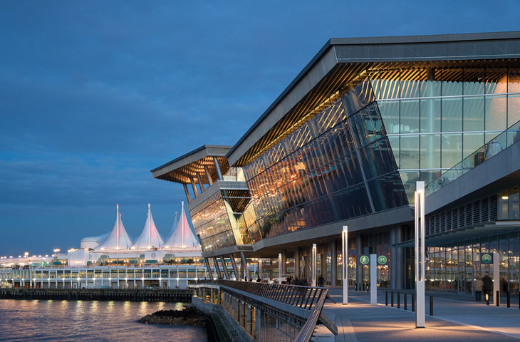 vancouver convention centre leed
