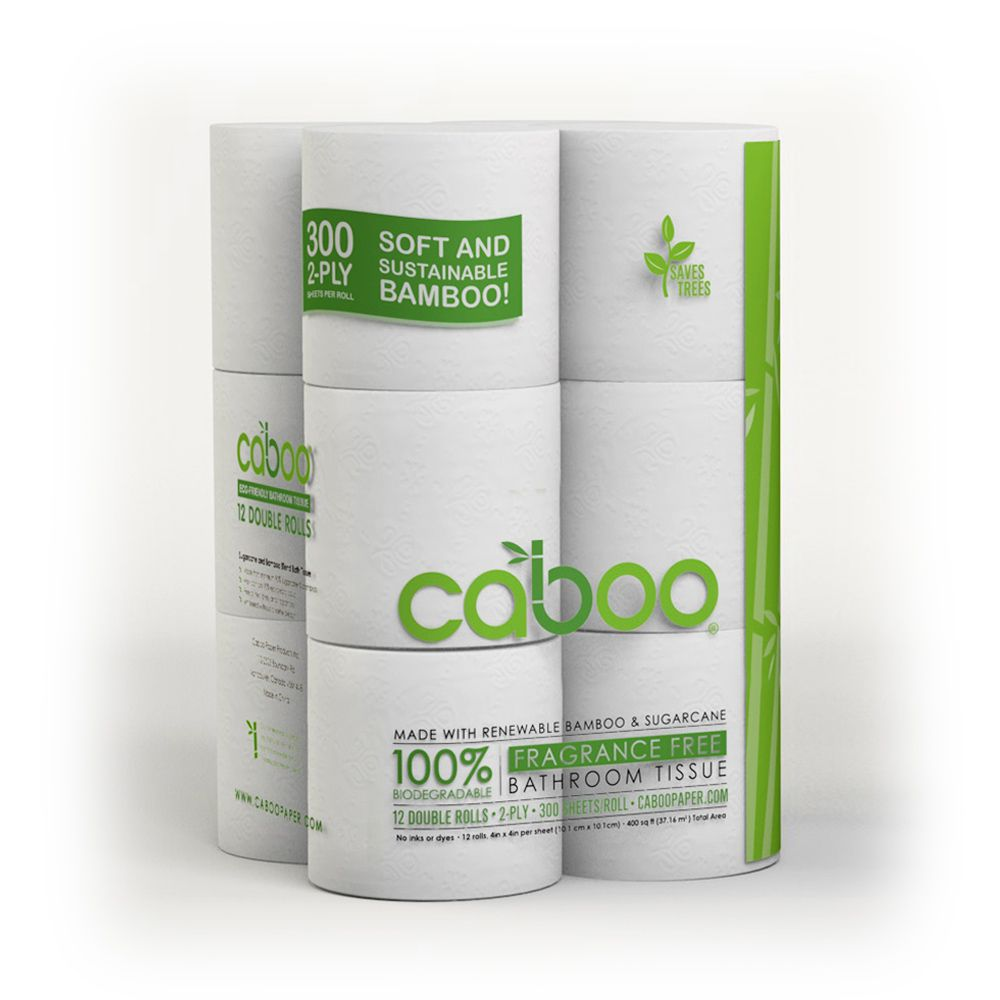 caboo bathroom tissue